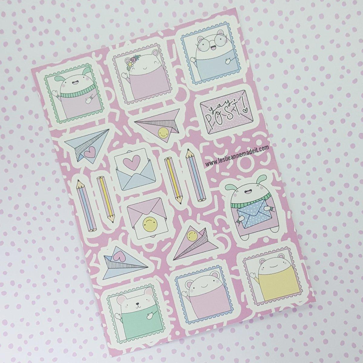 Snail Mail Sticker Sheet
