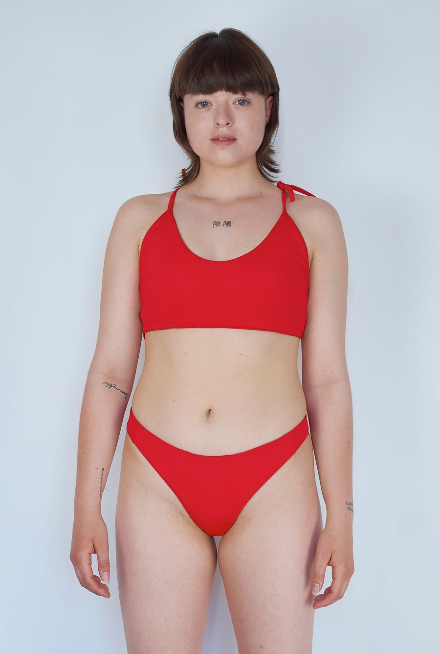 Image of Criss Cross Top - Hot Red
