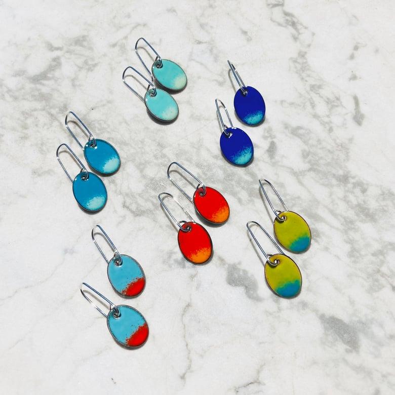 Image of splash earrings