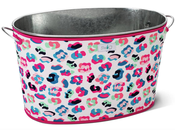 Image of Swig Party Animal Galvanized Tub and Cover