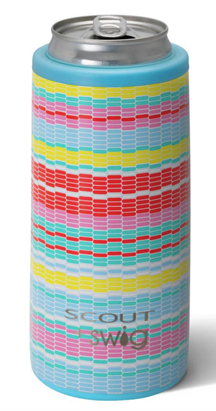 Image of SCOUT+Swig 12 oz Skinny Can Cooler Good Vibrations