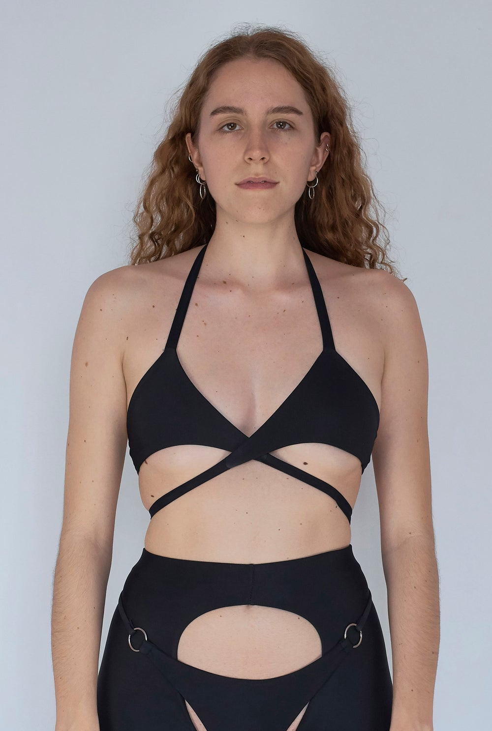 Image of Candy Wrap Top - Black