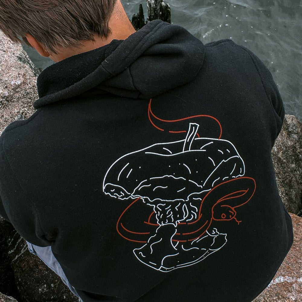 Image of Adam and Eve hoodie