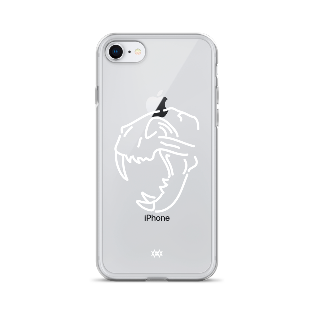 Image of Death of Wildlife. The Tiger iPhone case