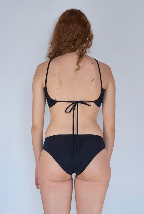 Image of Odessa Bikini Top - Black
