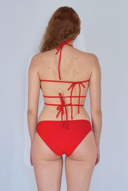 Image of 2001 Bikini Top - Hot Red