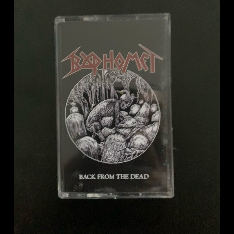 """Image of Baphomet """"Back From The Dead"""" _ Tape _ Valour Music"""