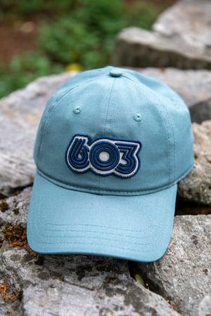Image of Mineral Blue - 603 Retro Organic Hat