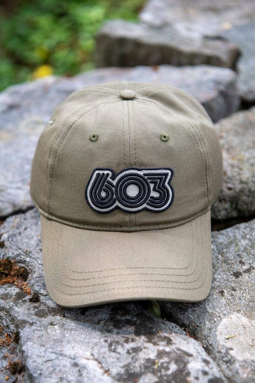 Image of Olive - 603 Retro Organic Hat