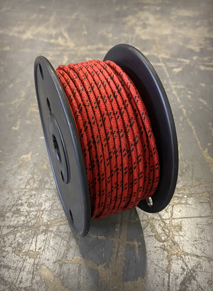 Image of [FSC] Cloth 16 AWG Wire - Red