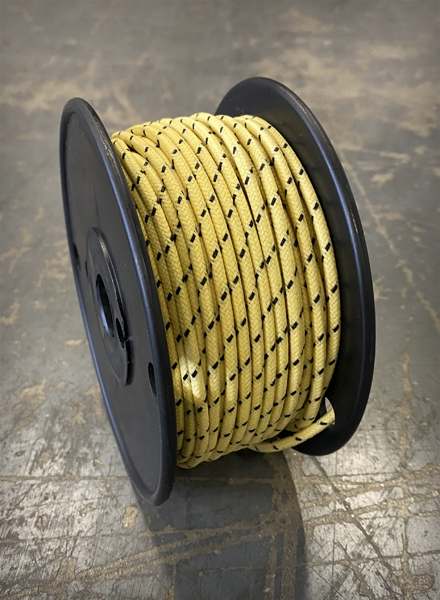 Image of [FSC] Cloth 16 AWG Wire - Yellow