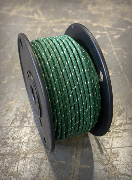 Image of [FSC] Cloth 16 AWG Wire - Green