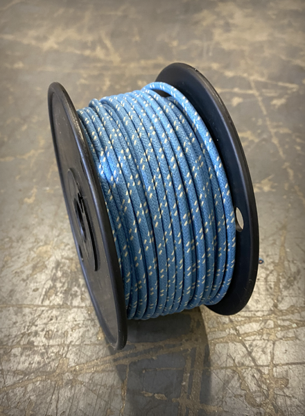 Image of [FSC] Cloth 16 AWG Wire - Vintage Blue