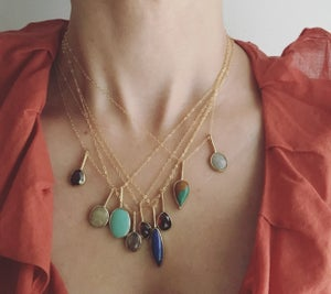 Image of Turquoise Pendant #7
