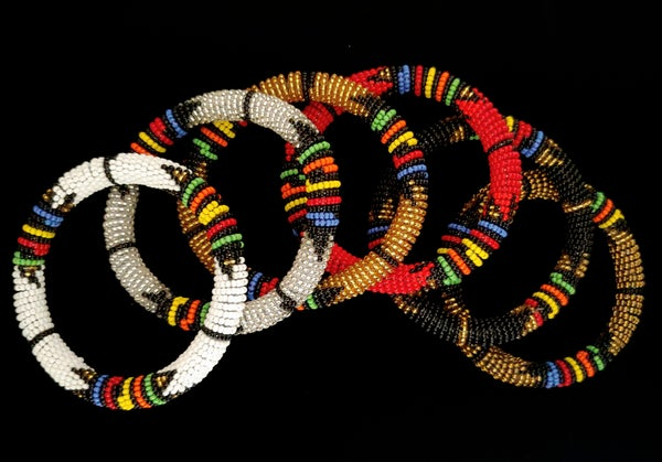 Image of Beaded Bangles - Regal Collection