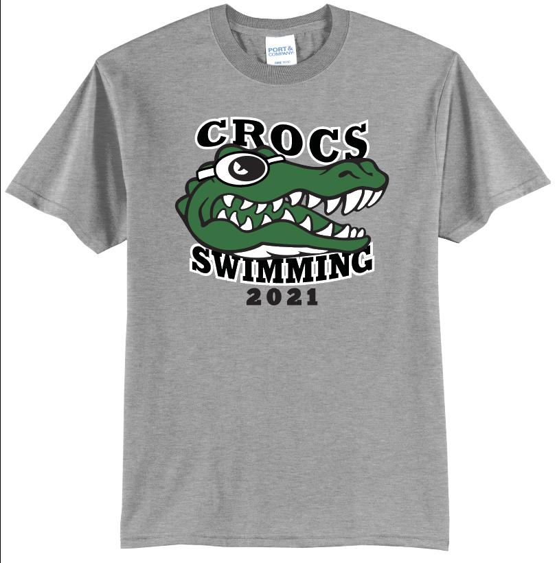 Crofton Crocs Swim Team 2021 Tee