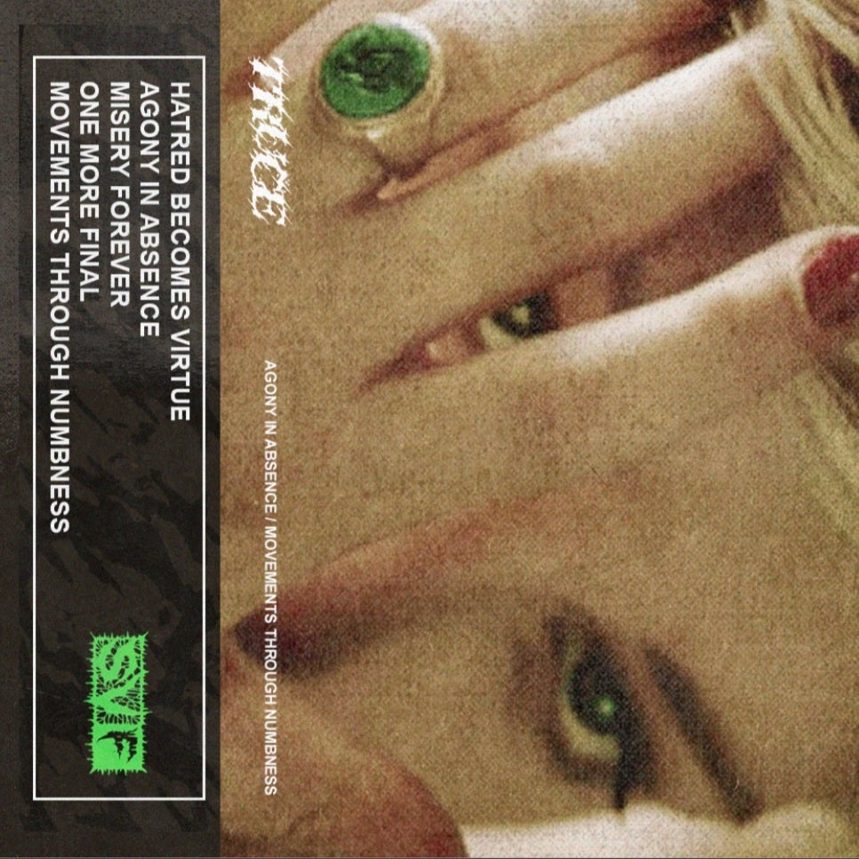 """Image of Truce """"Agony in Absence/Movements Through Numbness"""" Cassette"""
