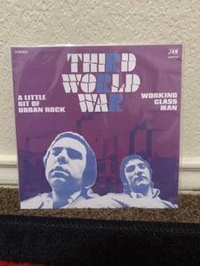 """Image of Third World War 'Little Bit of Urban Rock' 7"""" (White Vinyl)"""