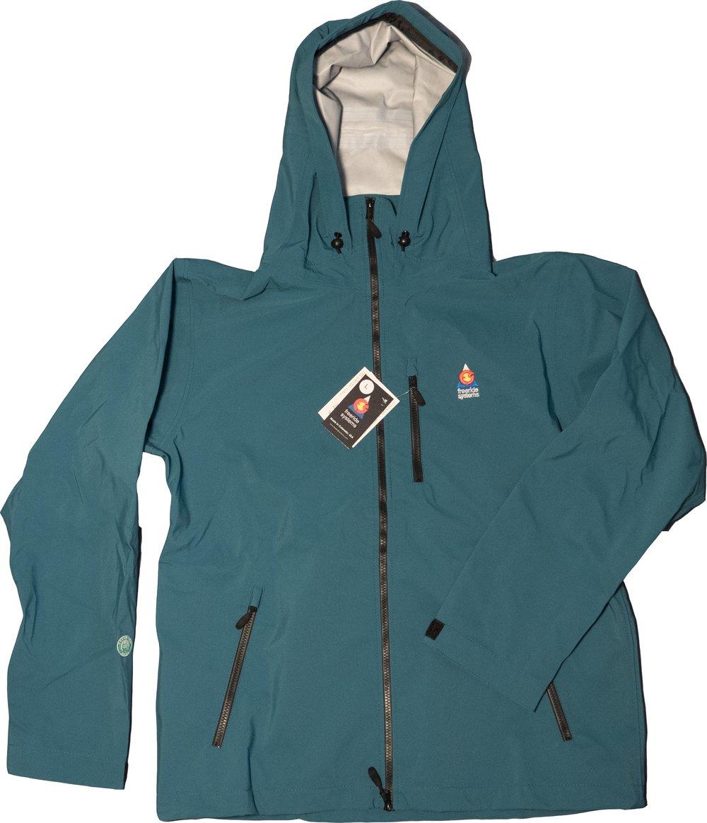 Image of Antero II Plus Hardshell Polartec Neoshell Jacket Sea Green