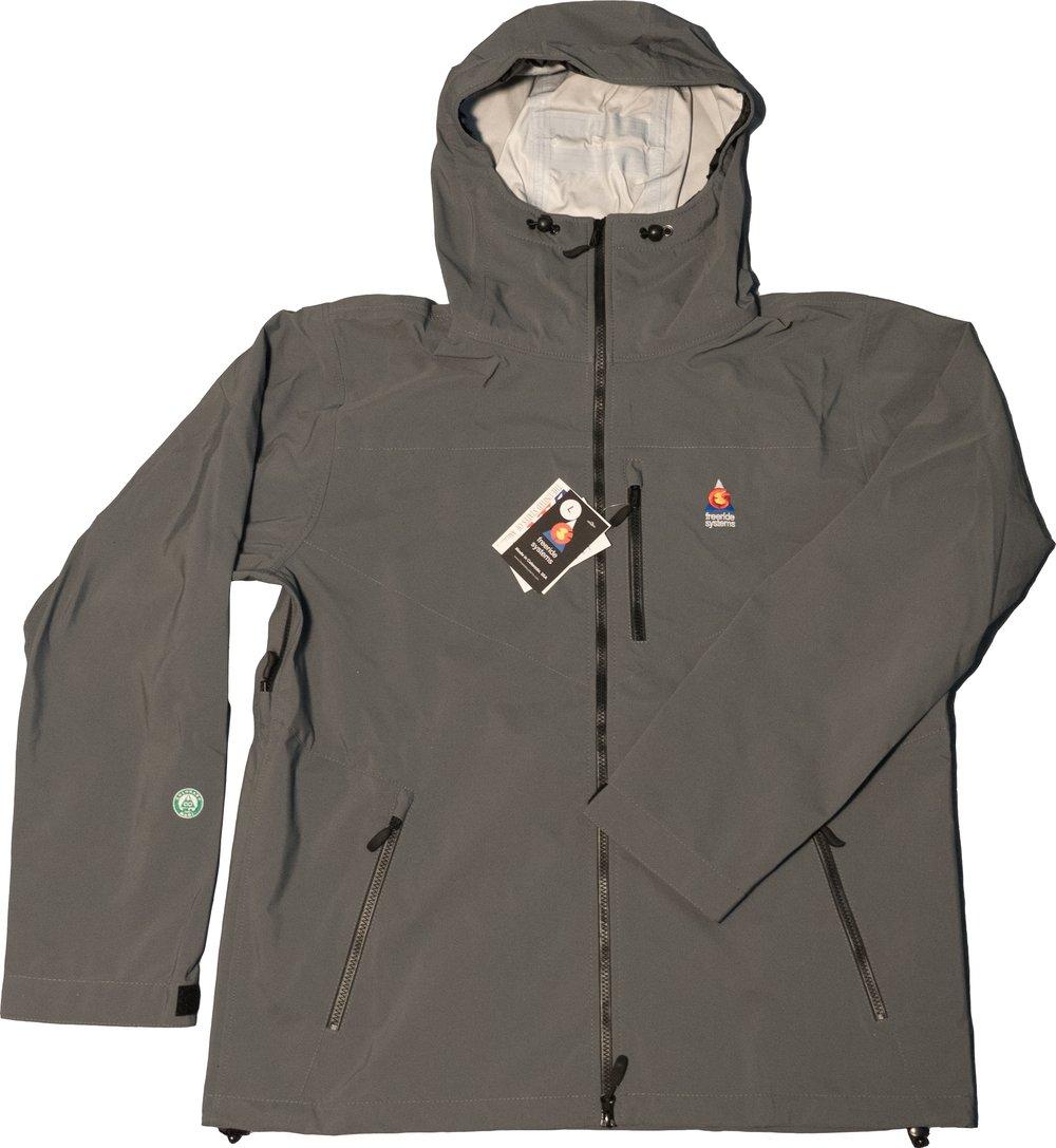 Image of Antero 3 Polartec Neoshell Hardshell Laminate Ski Jacket Dark Grey