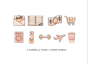 Image of A Paperella Story Transparent Icons