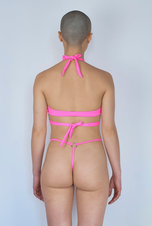 Image of Devil T-Thong - Bimbo Pink