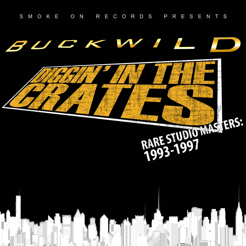 Image of Buckwild - Diggin' in the Crates Rare studio masters 1993-1997 (A box of golden age edition) CD