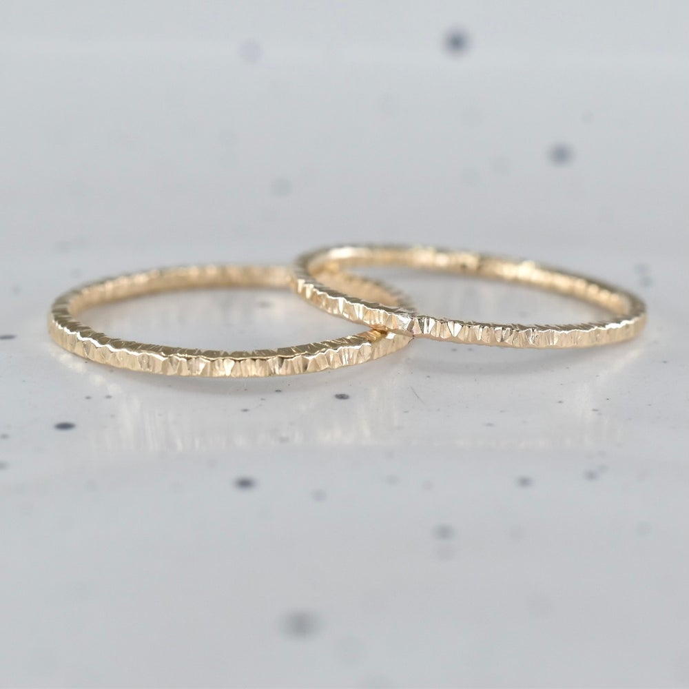 Image of Square Sparkle Ring