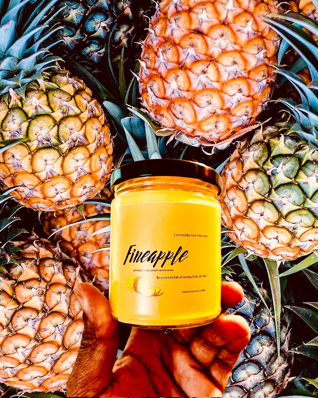 Fineapple Candle
