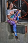 Collab Leggings with MSC strength & conditioning (Purple to Blue)