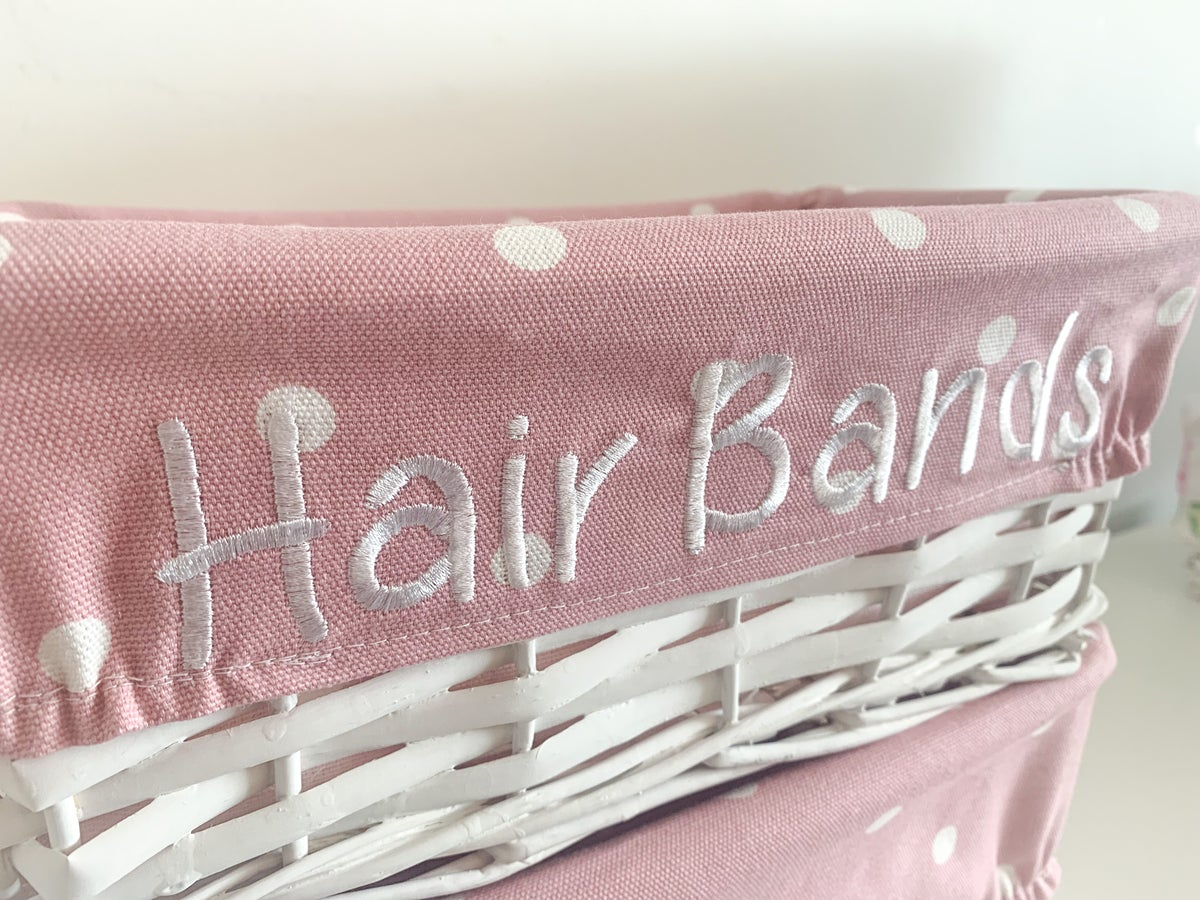 Image of DRESS STATION BASKET INSERTS - Personalisation package