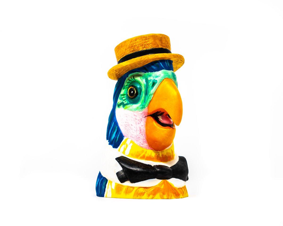Image of Barker Bird (Acrylic)