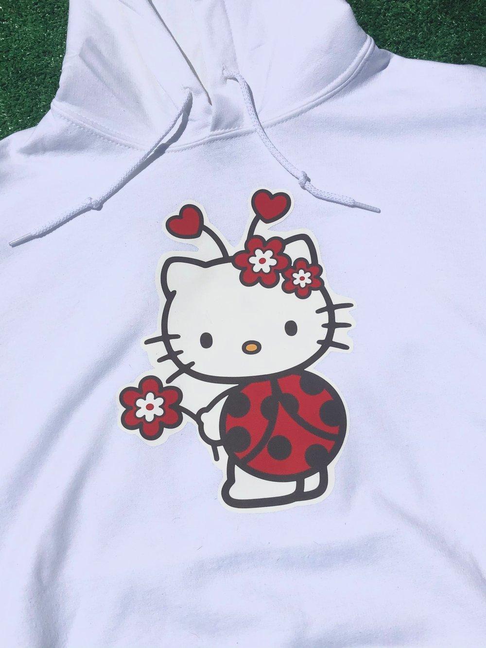 Ladybug Kitty Hoodie