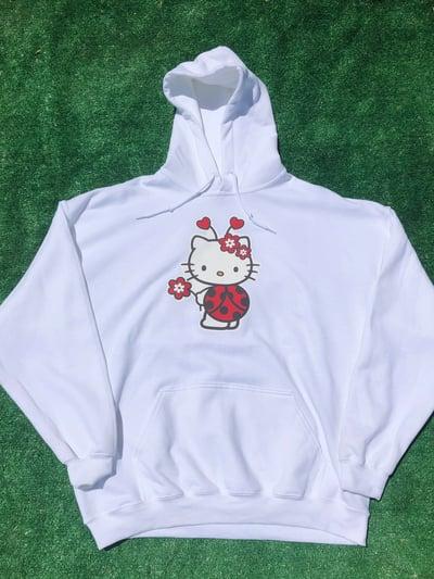 Image of Ladybug Kitty Hoodie