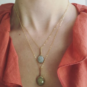 Image of Yellow Sapphire Pendant