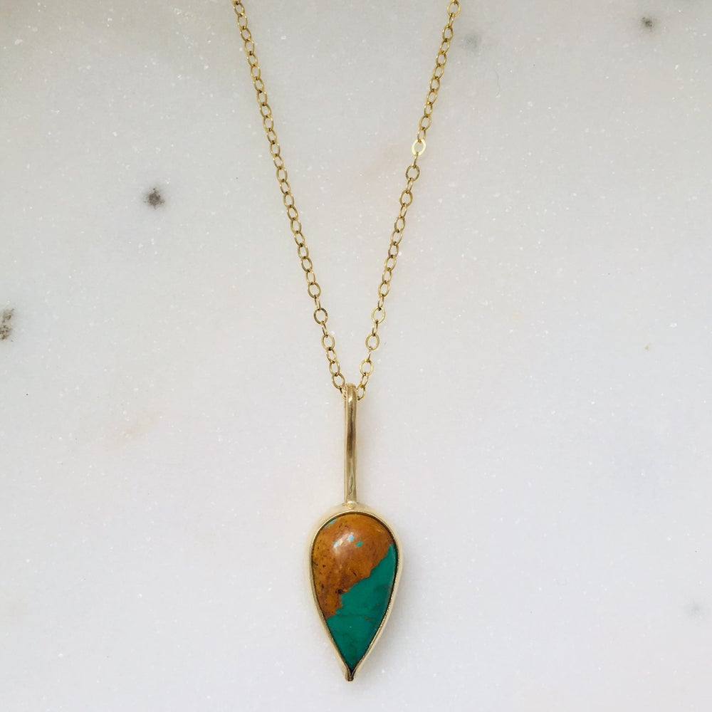 Image of Turquoise Pendant #8