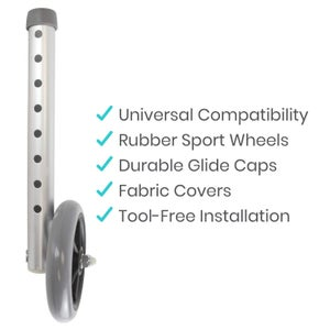 Image of Walker Wheels And Glides