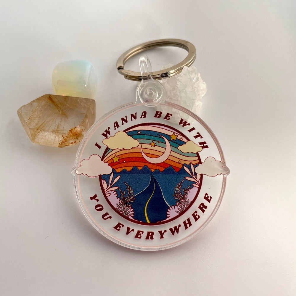 Image of Adventure Together Keychain