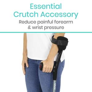 Image of Forearm Crutch Pads