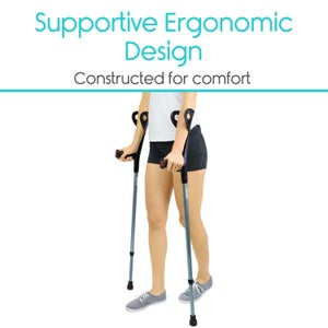 Image of Forearm Crutches