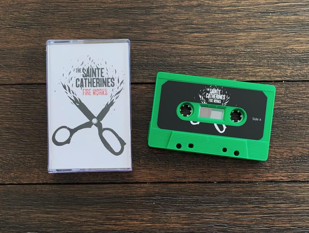 "Image de The Sainte Catherines "" FIRE WORKS"" Cassette / Tape"