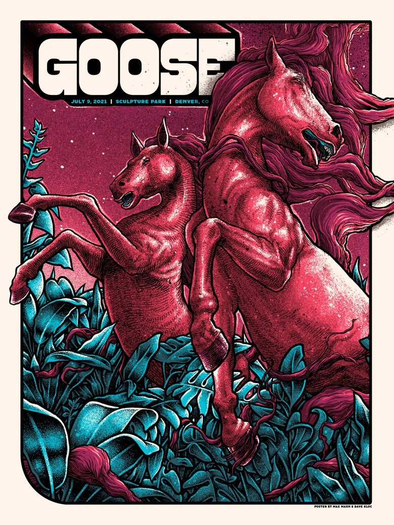 Image of Goose - Denver, CO - July 9th (Night 1) Main/Foil/Glow