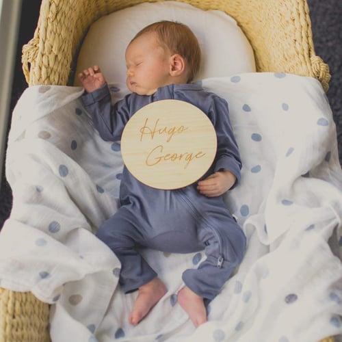 Image of Birth Announcement Plaque