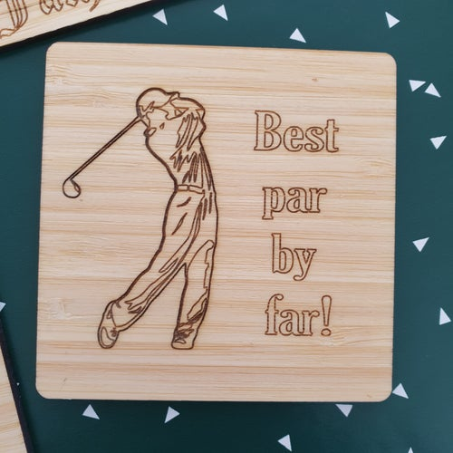 Image of Father's Day Coasters