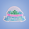 Sup Succas Holographic Sticker