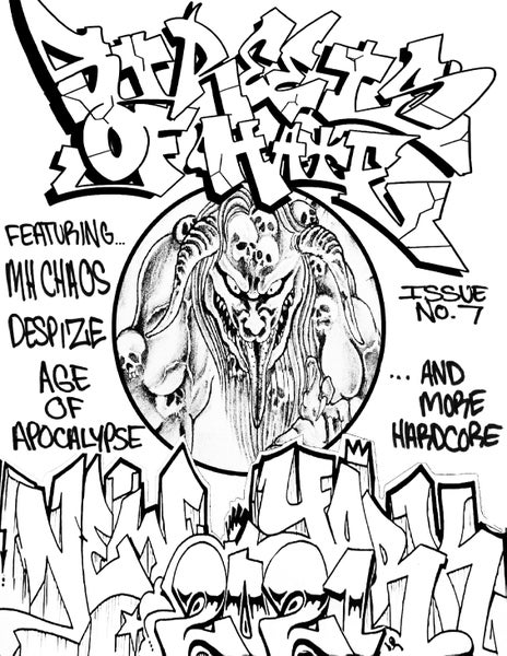 Image of Streets Of Hate Fanzine Issue # 7