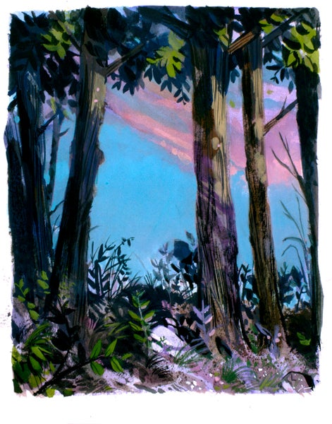 Image of Painting: Walking Up That Hill