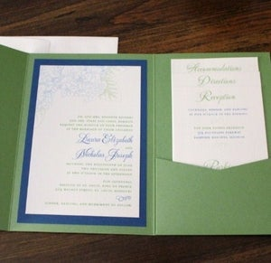 Image of wedding invitations