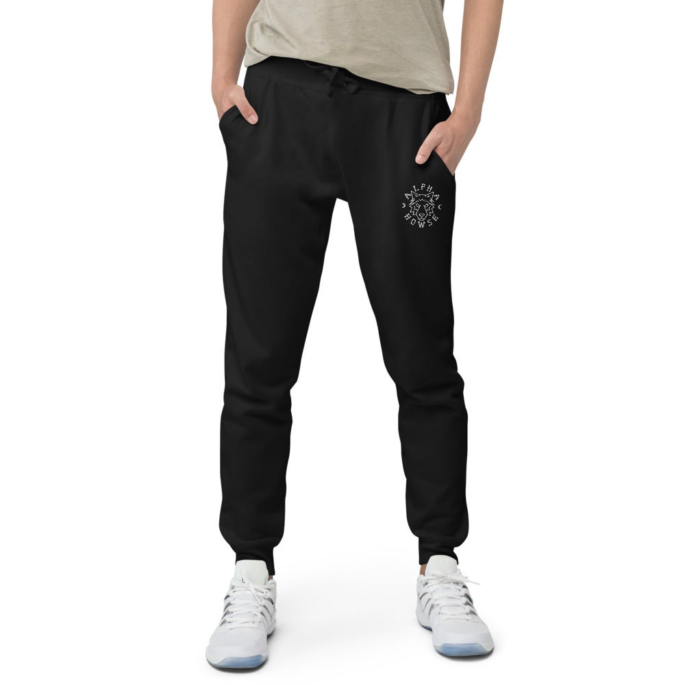 Image of Embrodiered Unisex Joggers