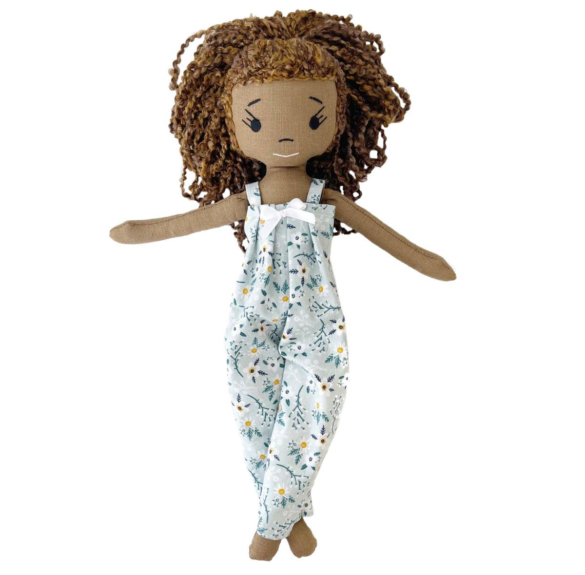 Luna Handmade Linen Doll (Waitlist Preorder Item - ship date Oct 1-Mar 30,2022)